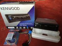Kenwood CD Receiver USB/AUX Never Used