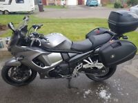 Good condition motorcycle, full pannier set. 12 months MOT. Durable sports tourer with strong engine