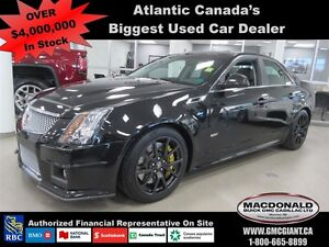 2011 Cadillac CTS-V Black Diamond Edition w/Recaro Seats