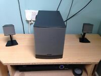 Bose Companion 3 speakers