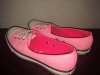Pink Converse All Star shoes