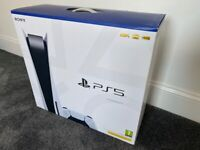 Sony Playstation 5 Disc Console PS5 Sealed Box NEW