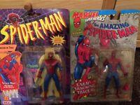 2 Spider - Man Figures Rare