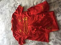 Football Liverpool Fc home kit small boys