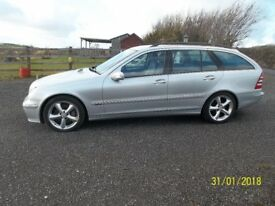 Mercedes C220-cdi Avantgde se estate automatic
