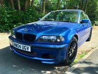 2004 Bmw 325i M Sport INDIVIDUAL Estriol Blue Facelift. Low Miles.