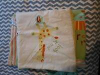 Baby Cot bed Duvet Cover and Bumper Set