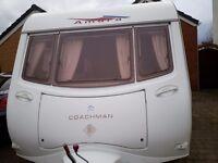 2005 Coachman Amara 520/4 berth Touring Caravan