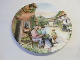 Royal Doulton Old Country Crafts series decorative plates by Susan Neale