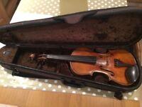 Maggini violin and case