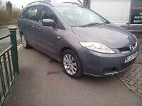 2007 Mazda 5 Diesel Family 7 Seater Long Mot Clean And Tidy in And Out Bargain Price