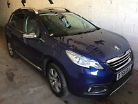 Peugeot 2008 1.6 e-HDi Allure EGC 5dr (start/stop)£8,395 p/x welcome 1 YEAR FREE WARRANTY