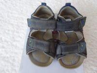 Clarks Baby Boys Sandals Size 4.5 G
