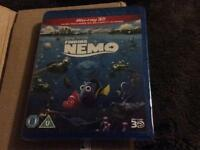Finding Nemo 3D Blu Ray, new and sealed