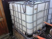 Used Water Storage Tank Ideal for Allotments