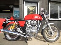 New 535cc Royal Enfield Continental GT - £5199 OTR. 2 Yrs Full Warranty, Finance subject to status