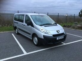 2012 PEUGEOT EXPERT TEPEE 1.6 WHEEL CHAIR ACCESS 6 SEATERS 36000 MILEAGE