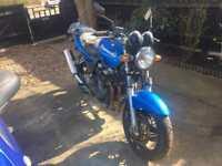 2002 KAWASAKI ZR750 SPARES REPAIRS PROJECT