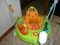 Fisher Price Jungle Jumperoo with Activities Music and Lights