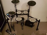 Roland TD15 V-DRUM KIT AND EXTRAS