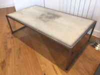 Loaf Cooler Concrete Style Coffee Table RRP £245