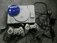 Sony playstation ps1 console complete