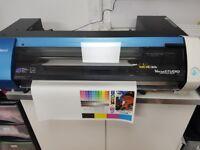 Roland BN-20 Solvent Printer Sign Making, Vinyl, Tshirt Printing, Banner BN20
