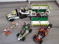 """Lego world racers """" Desert of Destruction"""" 8864"""
