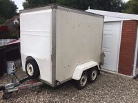 Indespension Twin Axle Braked Box Trailer