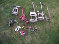 GAS FITTERS TOOLS