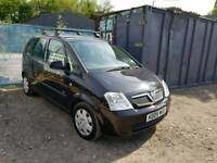 05 PLATE VAUXHALL MERIVA. 1.8 PETROL. PX TO CLEAR