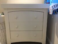 Mamas & Papas Ivory Changer/Dresser