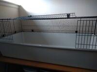 2 x Large Indoor Rabbit / Guinea Pig Cages