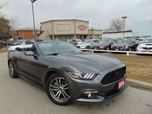 2015 Ford Mustang ECO BOOST- PREMIUM- LEATHER