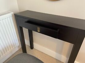 Console Table with small drawer