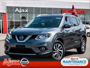 2014 Nissan Rogue SL*Accident Free*Navigation*Heated Seats*Bluet