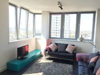 SHORT-TERM, MODERN BRIGHT 2 BEDROOM CITY CENTRE APARTMENT AVAILABLE, EIGTH FLOOR STUNNING VIEWS.