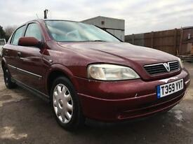 1999 Vauxhall Astra 1.4 MOT June 2017 CREDIT & DEBIT CARDS ACCEPTED