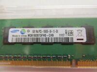 1GB Samsung 1Rx8 PC3-10600E 1333Mhz DDR3 Ram - PC3-10600E server ram