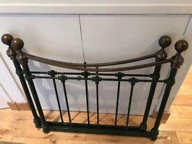 Lovely ornate metal bed ends