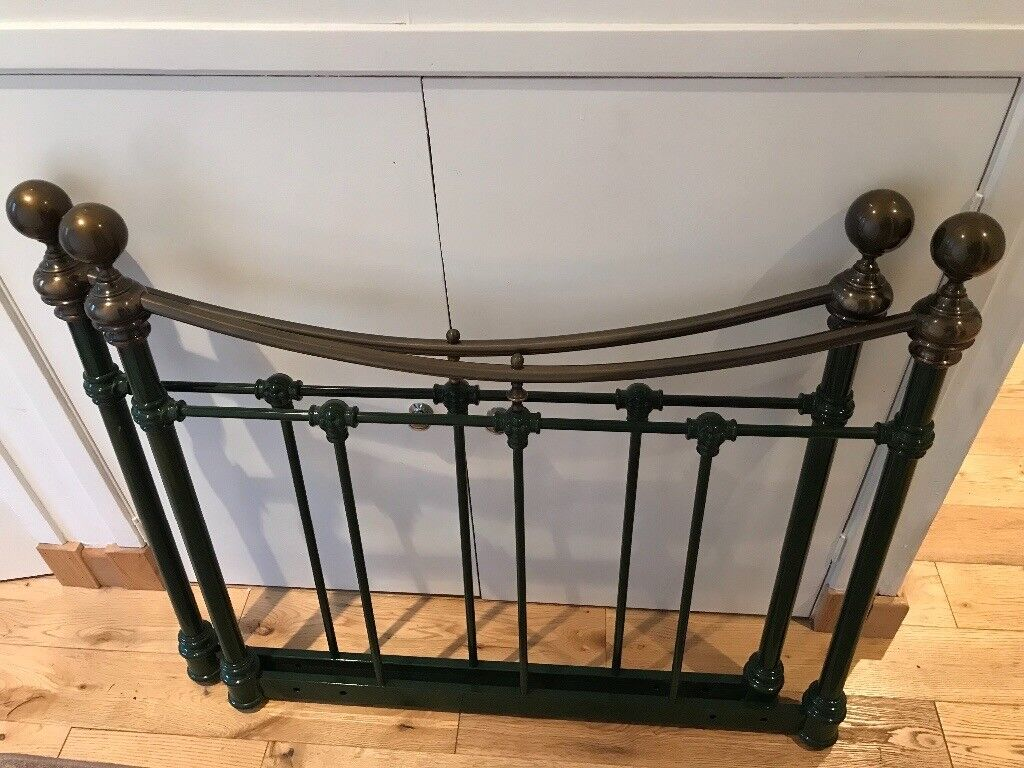 Lovely ornate metal bed ends