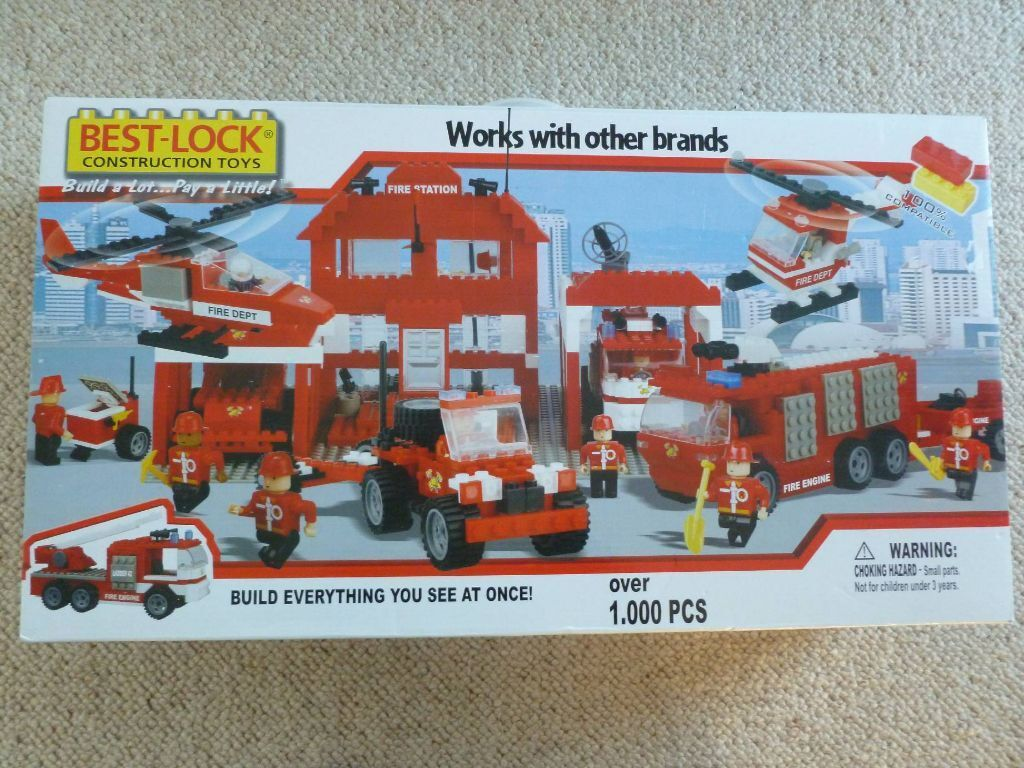New Best Lock Construction Toys, 1000 pieces, similar to ...