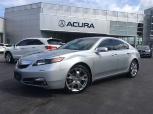 2012 Acura TL ELITE | NAVI | LEATHER | 1OWNER | TINT | NEWPADS