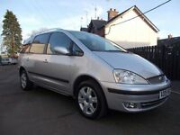 2005 FORD GALAXY 1.9 TDI GHIA 7 SEATER **77000** MILES FULL YEARS MOT