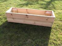 Planters herb boxes