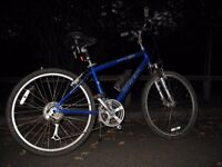 "Trek 300 Navigator 16.5"" frame ladies blue bike, good condition"