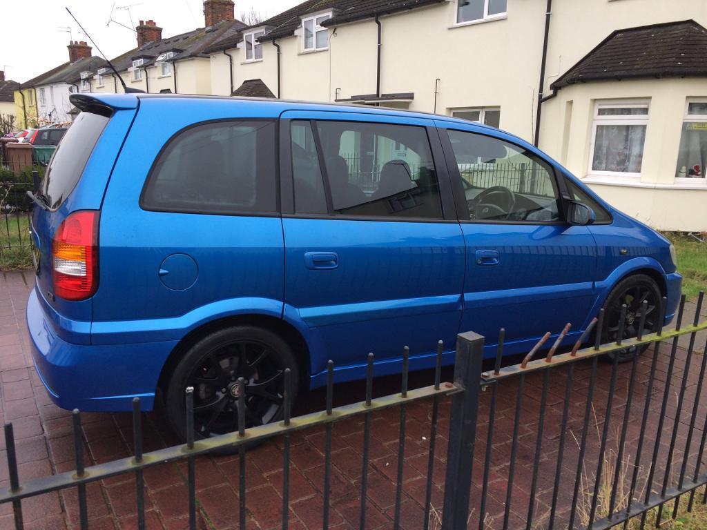 Vauxhall zafira gsi TOP SPEC! Mint condition 84,000 miles!