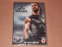 DVD WRESTLING SETH ROLLINS & GOLDBERG NEW AND SEALED