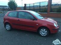 2003 Volkswagen polo 1.2 mint car bargain moted (Clio corsa Saxo fiesta Ibiza fabia Astra golf Leon)