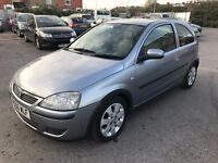 Vauxhall Corsa 1.2 i 16v SXi+ 2006 sporty looking car 3dr £799